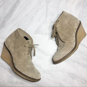 J. Crew Suede Booties Made in Italy 6
